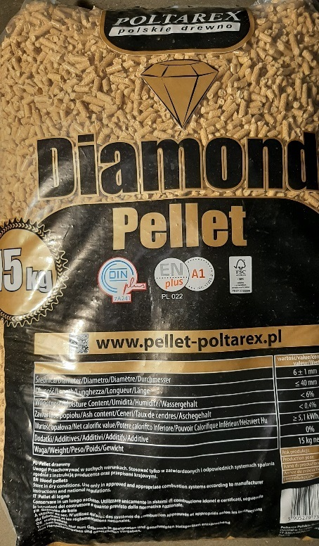 Diamond Pellets 6mm 66x15kg